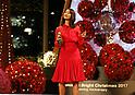 Christmas tree lighting ceremony in Marunouchi