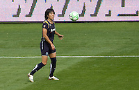 LA Sol's Han Duan. The LA Sol defeated the Washington Freedom 2-0 in the opening game of Womens Professional Soccer at Home Depot Center stadium on Sunday March 29, 2009.  .Photo by Michael Janosz
