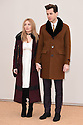 Josephine de La Baume and Mark Ronson<br /> arrives for the Burberry Menswear A/W 16 fashion show, Perks Field, Hyde Park, London<br /> <br /> <br /> ©Ash Knotek  D3064 11/01/2016
