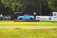 14th tee during the BMW PGA Golf Championship at Wentworth Golf Course, Wentworth Drive, Virginia Water, England on 27 May 2017. Photo by Steve McCarthy/PRiME Media Images.