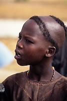 Bankilare, southwestern Niger - Bella Girl, Hairdo
