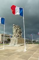 Europe/France/Normandie/76/Seine Maritime/  Le Havre : Place General de Gaulle - Monument aux Morts //  Europe/France/Normandy/76/Seine Maritime/