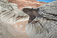 The Nautilus is a highly eroded sandstone formation in Southern Utah