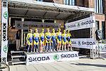 Tinkoff-Saxo Bank, Vattenfall Cyclassics, Hamburg, Germany, 24 August 2014, Photo by Thomas van Bracht