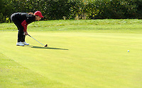 EAGLES GOLF CHARITY GOLF CUP - Golfpark Seehausen bei Leipzig - im Bild: Anna-Maria Kaufmann nimmt Maß . Foto: Norman Rembarz..Norman Rembarz , Autorennummer 41043728 , Holbeinstr. 14, 04229 Leipzig, Tel.: 01794887569, Hypovereinsbank: BLZ: 86020086, KN: 357889472, St.Nr.: 231/261/06432 - Jegliche kommerzielle Nutzung ist honorar- und mehrwertsteuerpflichtig! Persönlichkeitsrechte sind zu wahren. Es wird keine Haftung übernommen bei Verletzung von Rechten Dritter. Autoren-Nennung gem. §13 UrhGes. wird verlangt. Weitergabe an Dritte nur nach  vorheriger Absprache..
