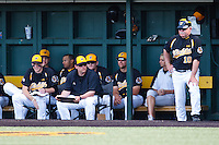 Wichita State Bench April 10th, 2010; Southern Illinois vs Wichita State University at Eck Stadium in Wichita, Ks. Photo by: William Purnell/Four Seam Images