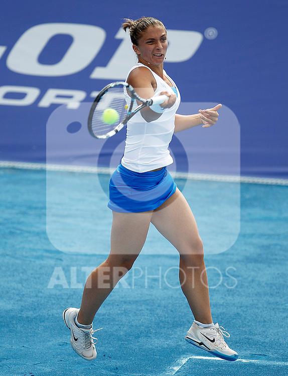 Sara Errani during Madrid Open Tennis 2012 Match.May, 7, 2012(ALTERPHOTOS/ALFAQUI/Acero)