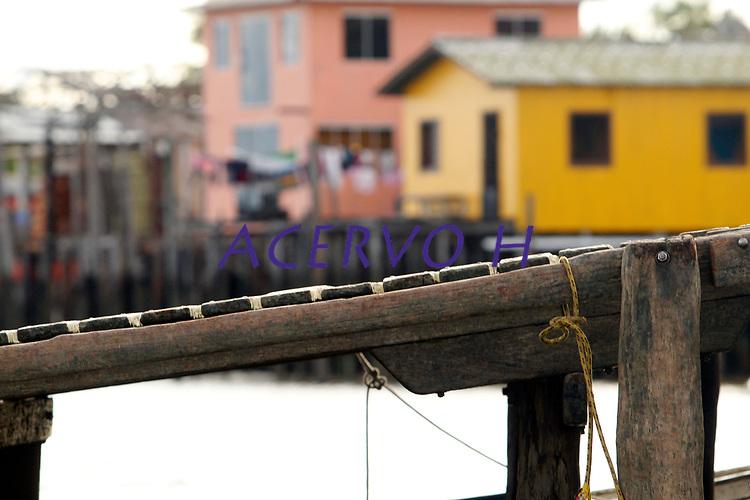 Orla da cidade de Cametá e comunidades ribeirinhas na região.