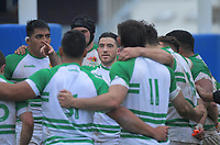 Nehe Milner-Skudder talks to his teammates during the Mitre 10 Cup rugby preseason match between Manawatu Evergreens and Wellington Lions at Levin Domain in Levin, New Zealand on Saturday, 5 September 2020. Photo: Dave Lintott / lintottphoto.co.nz