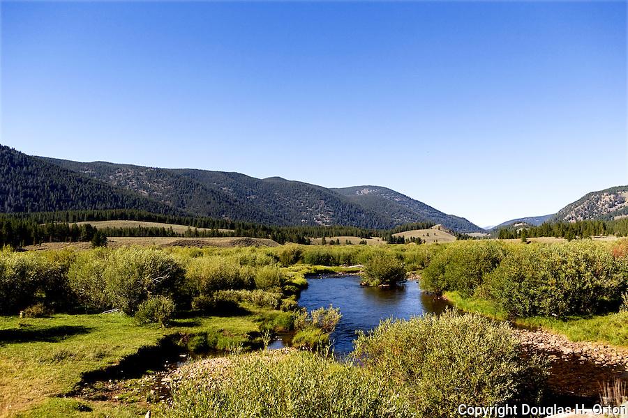 Grasshopper Creek near Bannack, Montana