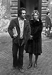 RENATO  E BRUNELLA POZZETTO  ROMA 1975