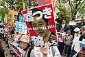 Protests continue against Japanese Prime Minister Shinzo Abe