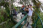 Chück, Rachel & Jared Baxa On Canopy Tower, Tiputini