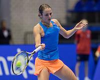 Rotterdam, Netherlands, December 15, 2016, Topsportcentrum, Lotto NK Tennis,  Bibiane Schoofs (NED) <br /> Photo: Tennisimages/Henk Koster