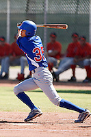 Pin-Chieh Chen - Chicago Cubs 2009 Instructional League .Photo by:  Bill Mitchell/Four Seam Images..