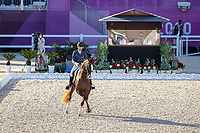 ESP-Severo Jurado Lopez rides Fendi T during the Dressage Grand Prix Team Final at the Equestrian Park. Tokyo 2020 Olympic Games. Tuesday 27 July 2021. Copyright Photo: Libby Law Photography