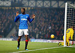 27.02.2019 Rangers v Dundee: Glen Kamara scores for Rangers but does not want to celebrate against his old club