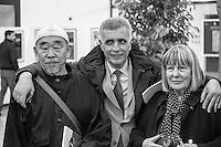 Hidetoshi Nagasawa, Letizia Battaglia, Oscar Marzo Vetrugno