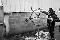 post-training bike wash<br /> <br /> Soudal Jaarmarktcross Niel 2016