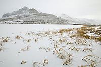 Trans Alaska oil pipeline, Atigun Canyon, Brooks Range, Alaska
