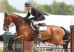 William Fox-Pitt and Parklane Hawk win the 2012 Rolex Three Day Event at the Kentucky Horse Park.  April 29, 2012.