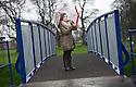 Grangemouth Gala Queen, Georgia Forsyth, is officially opens the new Zetland Park Foot Bridges.