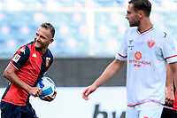 esultanza gol Domenico Criscito <br /> during the Italy cup football match between Genoa CFC and Perugia at Stadio Marassi in Genova (Italy), August 13th, 2021. Photo Image Sport / Insidefoto