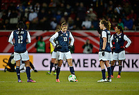 Offenbach, Germany, Friday, April 05 2013: Womans, Germany vs. USA, in the Stadium in Offenbach,  Alex Morgan (USA).