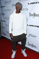 LOS ANGELES, CA, USA - DECEMBER 14: Aldis Hodge arrives at the Wayke Up Fundraiser presented by Wildfox and Ladygunn Magazine hosted by Nikki Reed held at the Sofitel Hotel on December 14, 2014 in Los Angeles, California, United States. (Photo by David Acosta/Celebrity Monitor)