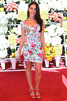 PACIFIC PALISADES, CA - OCTOBER 05: Actress Jessica Lowndes arrives at the 4th Annual Veuve Clicquot Polo Classic held at Will Rogers Polo Grounds on October 5, 2013 in Pacific Palisades, California. (Photo by Xavier Collin/Celebrity Monitor)