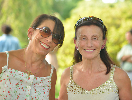 Irena Rolino and Wendy Kantor at Gallim Dance at The Pocantico Center, Kykuit, New York.