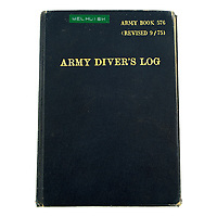 BNPS.co.uk (01202) 558833. <br /> Pic: Fellows/BNPS<br /> <br /> Pictured: Corporal Peter Melhuish's army diver's log book. <br /> <br /> A former British Army diver is selling the wristwatch he wore during the raising of the Mary Rose for £26,000.<br /> <br /> Corporal Peter Melhuish, of the Royal Engineers, had the Rolex Submariner 5513 on when Henry VIII's famous warship was lifted from The Solent in 1982.<br /> <br /> He also wore the diver's wristwatch during operations off the Falkland Islands after Britain and Argentina went to war that year.<br /> <br /> Peter, from Tunbridge Wells, Kent, has owned the timepiece since 1979 and put it on regularly up until five years ago. Since then, it has been kept in his sock drawer and he has now decided to sell it with Fellows Auctioneers, of Birmingham.