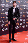 Adrian Lastra attends to the Red Carpet of the Goya Awards 2017 at Madrid Marriott Auditorium Hotel in Madrid, Spain. February 04, 2017. (ALTERPHOTOS/BorjaB.Hojas)