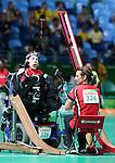 Eric Bussiere, Rio 2016 - Boccia. <br /> Eric Bussiere competes in the mixed boccia event against Korea // Eric Bussiere participe à l'épreuve de boccia mixte contre la Corée. 09/09/2016.