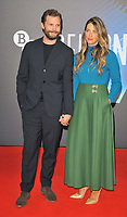 """Jamie Dornan and Amelia Warner at the 65th BFI London Film Festival """"Belfast"""" American Airlines gala, Royal Festival Hall, Belvedere Road, on Tuesday 12th October 2021, in London, England, UK. <br /> CAP/CAN<br /> ©CAN/Capital Pictures"""