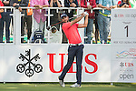 Steve Lewton of England tees off the first hole during the 58th UBS Hong Kong Golf Open as part of the European Tour on 10 December 2016, at the Hong Kong Golf Club, Fanling, Hong Kong, China. Photo by Marcio Rodrigo Machado / Power Sport Images