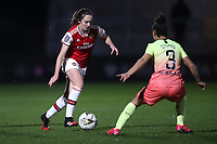 Lisa Evans of Arsenal during Arsenal Women vs Manchester City Women, FA Women's Continental League Cup Football at Meadow Park on 29th January 2020
