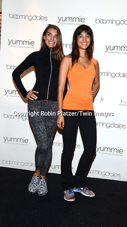 models in her new denim and acitve collections called Yummie  by Heather Thomson at Bloomingdales in New York City on September 11, 2014.<br /> <br /> photo by Robin Platzer/Twin Images<br />  <br /> phone number 212-935-0770