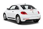 Car pictures of rear three quarter view of 2017 Volkswagen Beetle S 3 Door Hatchback Angular Rear
