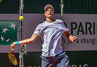 Paris, France, 1 june, 2019, Tennis, French Open, Roland Garros, Joniors, Christian Lerby (NED)<br /> Photo: Henk Koster/tennisimages.com