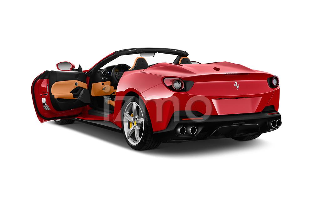 Car images close up view of a 2019 Ferrari Portofino base 2 Door Convertible doors