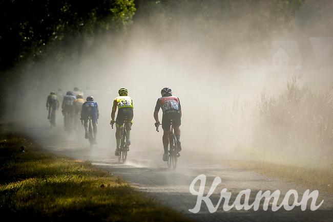 riders biting the dust.<br /> <br /> Dwars Door Het Hageland 2020<br /> One Day Race: Aarschot – Diest 180km (UCI 1.1)<br /> Bingoal Cycling Cup 2020