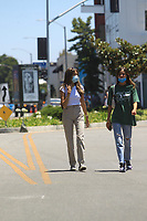 Madison Beer Hangs Out With A Friend In West Hollywood