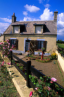 Normandy style architecture of home in Normandy France