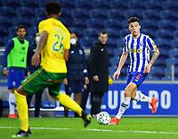 14th March 2021; Dragao Stadium, Porto, Portugal; Portuguese Championship 2020/2021, FC Porto versus Pacos de Ferreira; Mateus Uribe of FC Porto