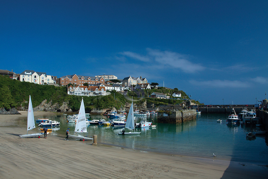 Newquay Harbour, Newquay, Cornwall