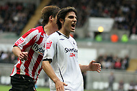 Pictured: Jordi Gomez of Swansea City in action <br /> Re: Coca Cola Championship, Swansea City Football Club v Southampton at the Liberty Stadium, Swansea, south Wales 25 October 2008.<br /> Picture by Dimitrios Legakis Photography, Swansea, 07815441513