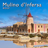 Infersa Salt Wind Mill, Ettore saltworks, Masala Sicily - Pictures & Images -