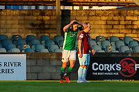 Gearoid Morrissey of Cork City reacts after a chance to score.<br /> <br /> Cobh Ramblers v Cork City, SSE Airtricity League Division 1, 28/5/21, St. Colman's Park, Cobh.<br /> <br /> Copyright Steve Alfred 2021.