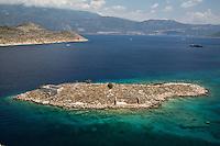 Neighbouring island off Kastellorizo, Greece